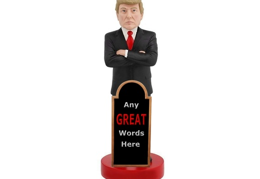 1660 PRESIDENT DONALD TRUMP LIFE SIZE LIFE LIKE 6 FOOT STATUE ADVERTISING BOARD 2