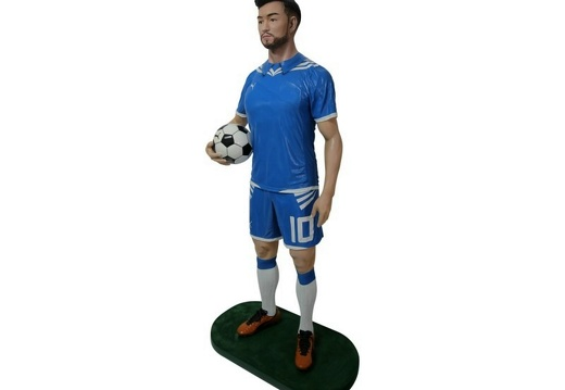 B0532 LIFE SIZE SOCCER FOOTBALL PLAYER ADVERTISING CHALK BOARD ALL TEAMS PLAYERS AVAILABLE 2