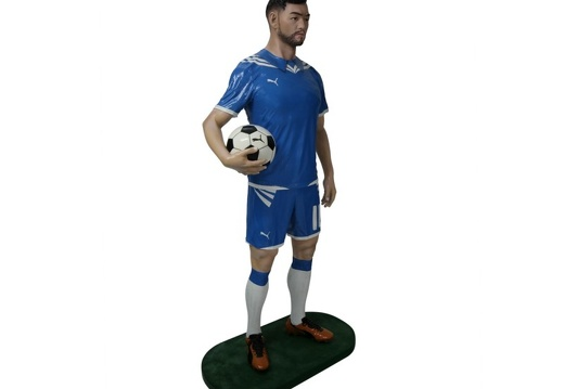 B0532 LIFE SIZE SOCCER FOOTBALL PLAYER ADVERTISING CHALK BOARD ALL TEAMS PLAYERS AVAILABLE 3