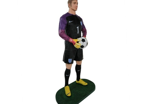 B0533 LIFE SIZE FOOTBALL SOCCER PLAYER ADVERTISING CHALKBOARD ALL TEAMS PLAYERS AVAILABLE 2