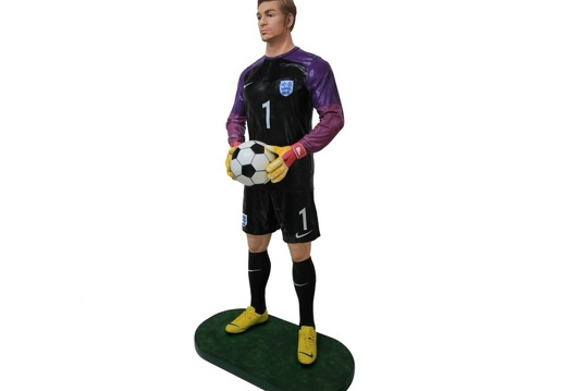 B0533 LIFE SIZE FOOTBALL SOCCER PLAYER ADVERTISING CHALKBOARD ALL TEAMS PLAYERS AVAILABLE 3