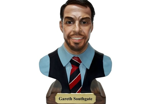 1031 - Gareth Southgate England Manager Life Size Bust - 1