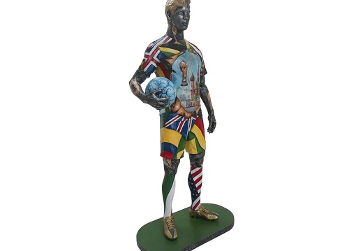 1570 - Life Size Football Statue - Russian World Cup - 2018 - 2