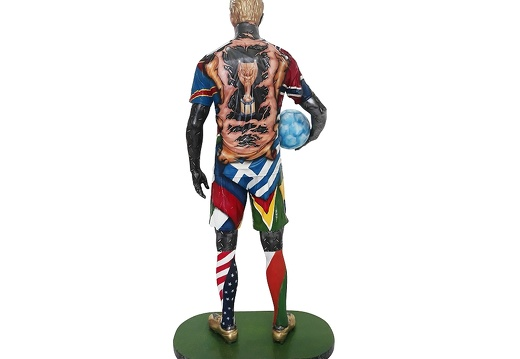 1570 - Life Size Football Statue - Russian World Cup - 2018 - 4
