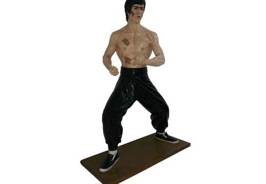1616 - Bruce Lee Life Like Statue - 3 Foot - 1