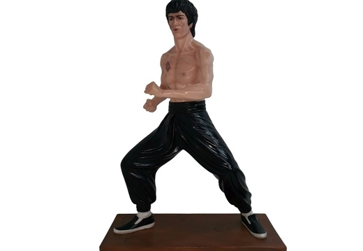 1616 - Bruce Lee Life Like Statue - 3 Foot - 2