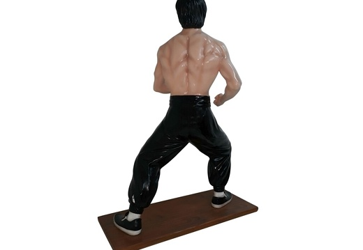 1616 - Bruce Lee Life Like Statue - 3 Foot - 3