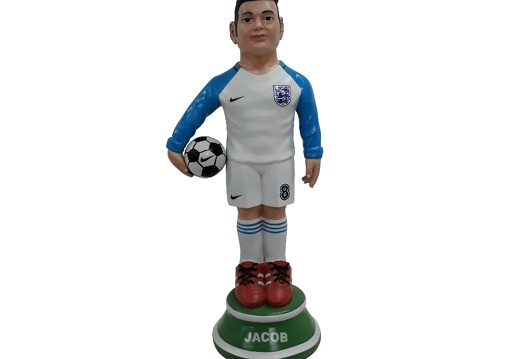 1617 - Football Soccer Awards Statue - Any Team Painted - 18 Inches Tall - 1