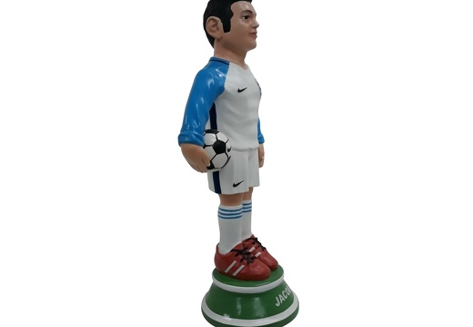 1617 - Football Soccer Awards Statue - Any Team Painted - 18 Inches Tall - 2