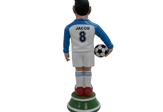 1617 - Football Soccer Awards Statue - Any Team Painted - 18 Inches Tall - 3