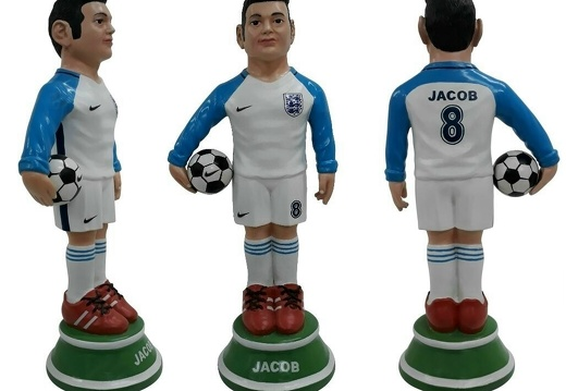 1617 - Football Soccer Awards Statue - Any Team Painted - 18 Inches Tall - 4