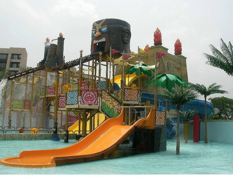 14 Foot Tall Tika Head Water Park Custom Made Project