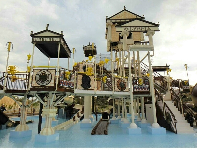 Custom Made Water Entertainment Park Products