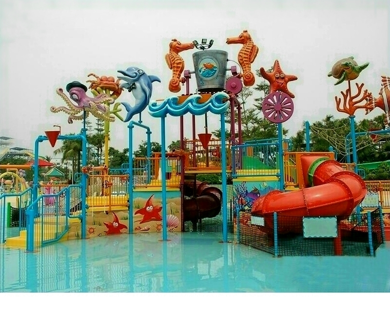 Custom Made Water Park Theming Products