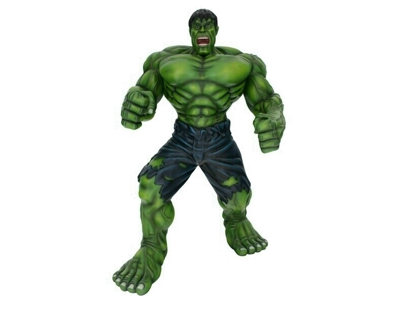 Incredible Green Hulk 7.5 Foot Tall Statue