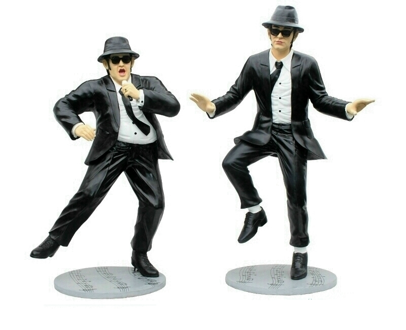 Life Size Dancing Blues Brothers Statues