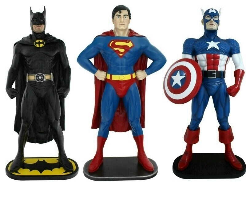 Life Size Super Hero Statues