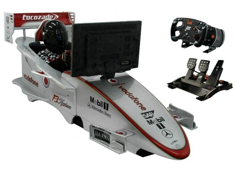 Professional Grand Prix Racing Simulators