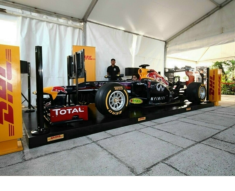 Red Bull F1 Professional Racing Simulator