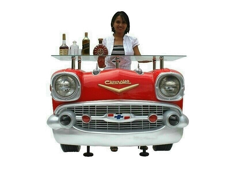 Retro Vintage Chevrolet Car Bar