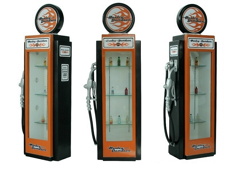 Retro Vintage Gas Pumps
