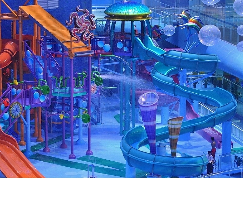 Water Entertainment Park Custom Made Project